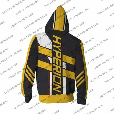 Borderlands Hoodies - Hyperion Zip Up Hoodie Jacket Cosplay
