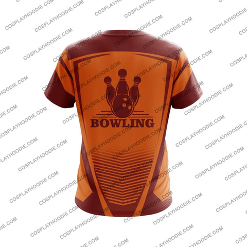 Image of Bowling T-Shirt Red T-Shirt