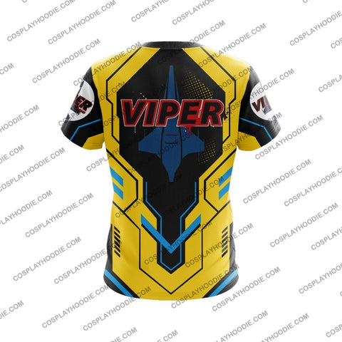 Colonial Viper T-Shirt Yellow T-Shirt