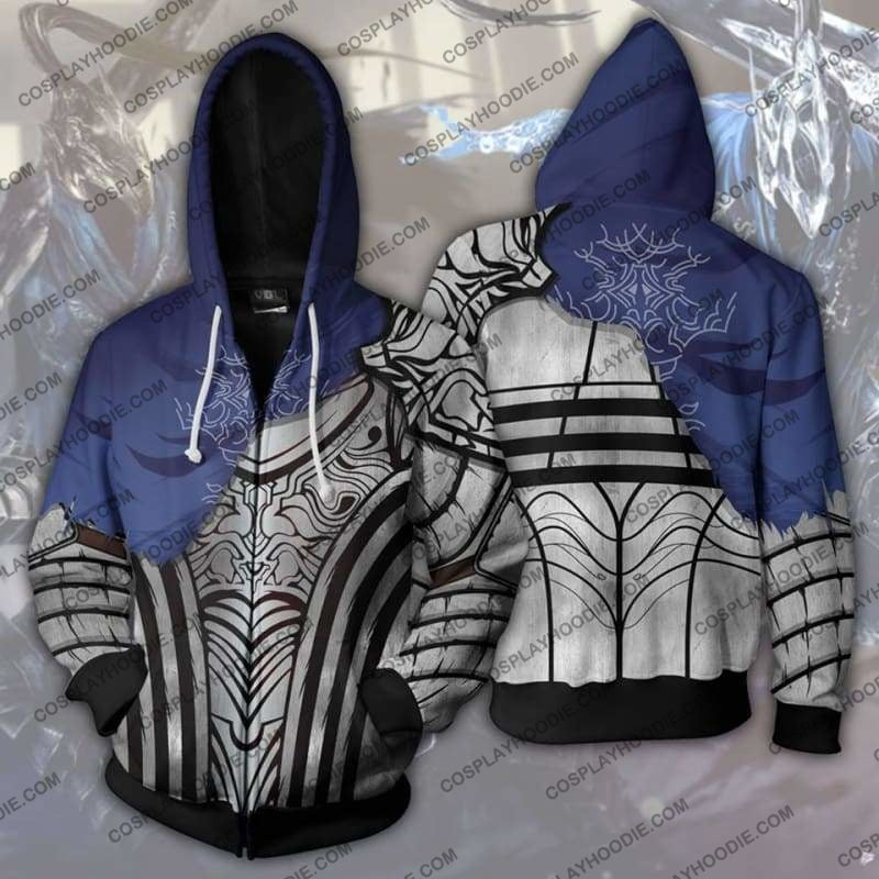 Dark Souls - Knight Artorias Zip Up Hoodie Jacket Cosplay