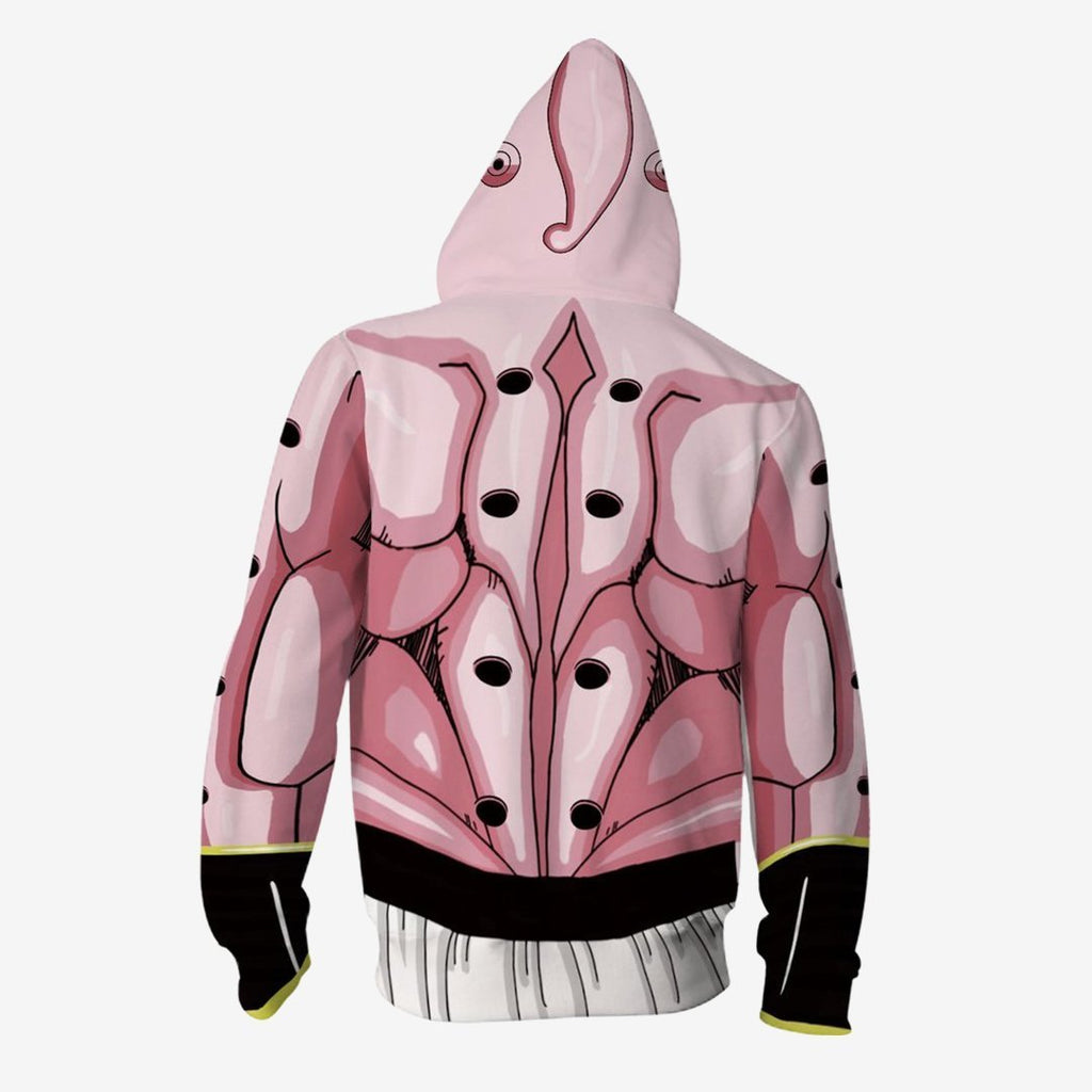 Dragon Ball Z - Majin Buu Cosplay Hoodie Jacket