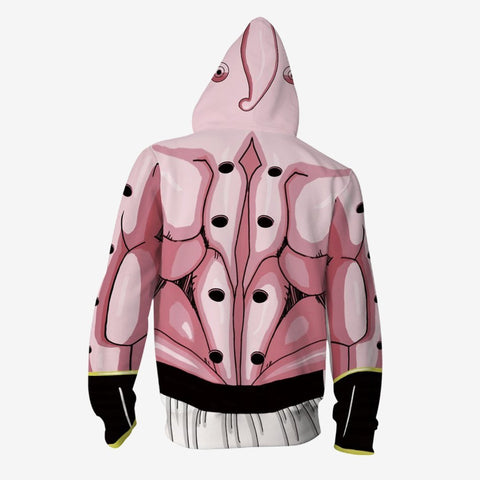 Image of Dragon Ball Z - Majin Buu Cosplay Hoodie Jacket
