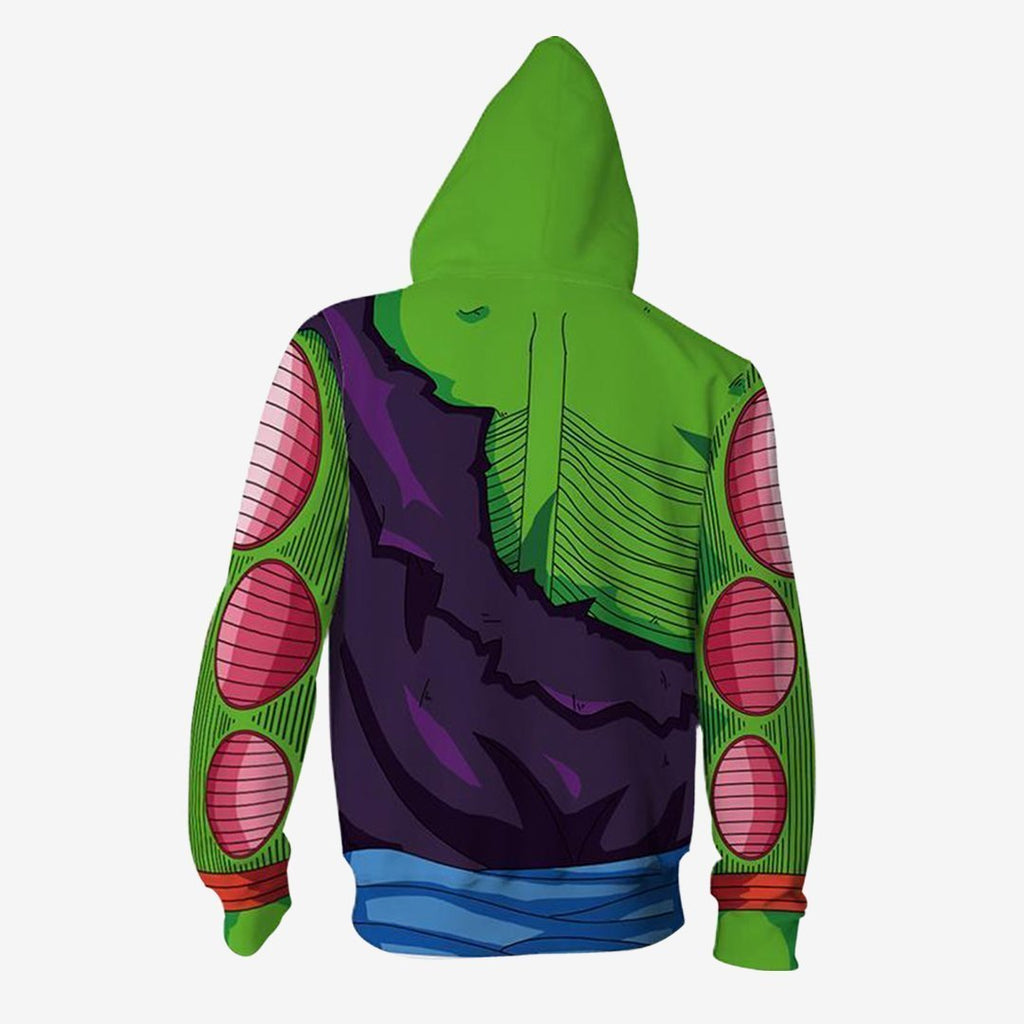 Dragon Ball Z - Piccolo Battle Cosplay Hoodie Jacket