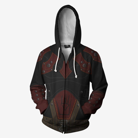 The Elder Scrolls - Shrouded Armour Cosplay Hoodie Jacket