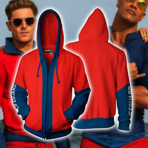 Baywatch Hoodie Cosplay Jacket Zip Up / Us Xs (Asian S)