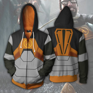Half-Life - Gordon Freeman Cosplay Hoodie Jacket