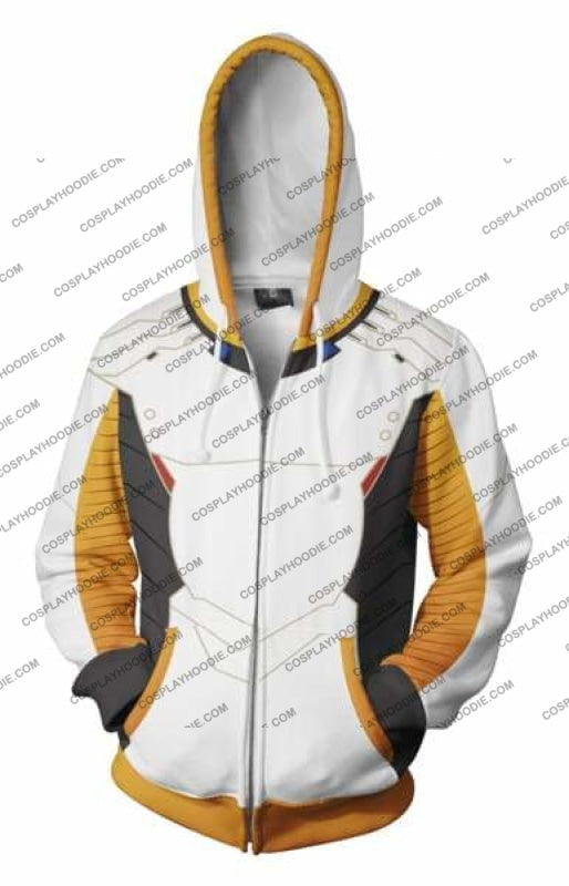 Overwatch Hoodie - Mercy Jacket Cosplay
