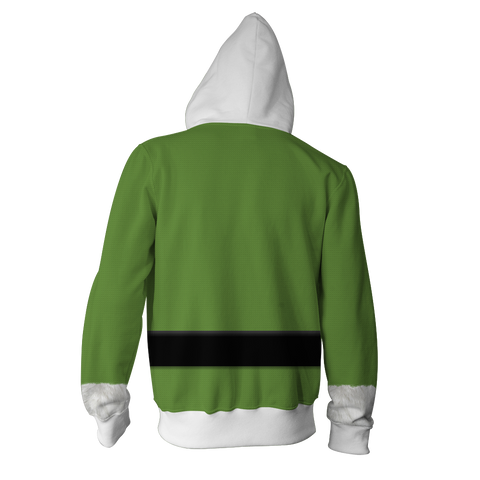 Image of Elf 2003 Buddy Hoodie Cosplay Jacket Zip Up