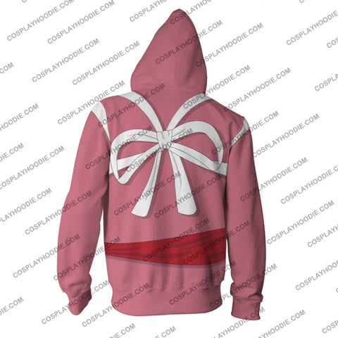 Image of Spirited Away Chihiro Ogino (Sen) Hoodie Cosplay Jacket Zip Up