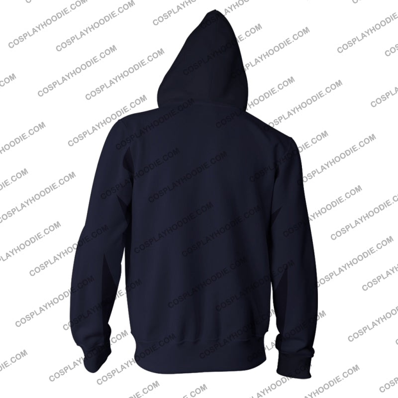 Yu-Gi-Oh! Ryo Bakura Hoodie Cosplay Jacket Zip Up