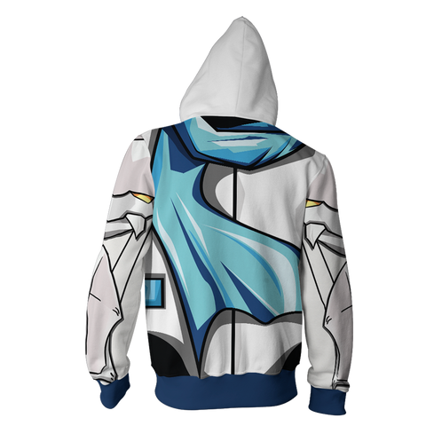 Elsword Chung Dc Deadly Chaser Hoodie Cosplay Jacket Zip Up