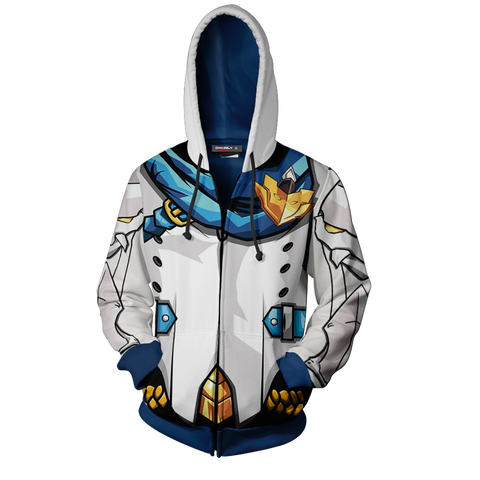 Image of Elsword Chung Dc Deadly Chaser Hoodie Cosplay Jacket Zip Up