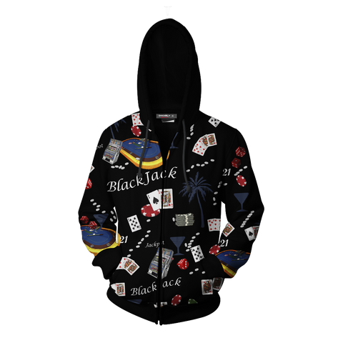 Image of Brooklyn 99 Boyles Blackjack Shirt Hoodie Cosplay Jacket Zip Up