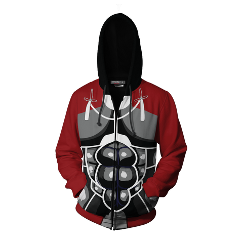 Fatestay Night Archer Hoodie Cosplay Jacket Zip Up