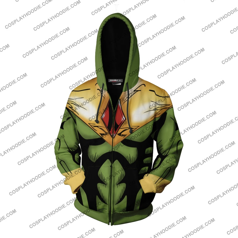The Fashion Vision Hoodie Cosplay Jacket Zip Up