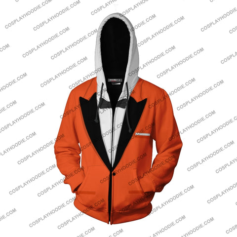 Image of Kingsman The Golden Circle Eggsy Unwin (Vest) Hoodie Cosplay Jacket Zip Up
