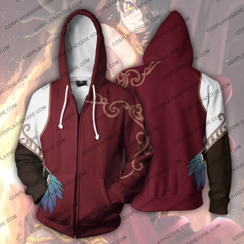 Cinder Zip Up Hoodie Cosplay Jacket