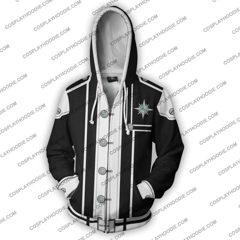 Image of D. Gray Man Yu Kanda Zip Up Hoodie Cosplay Jacket