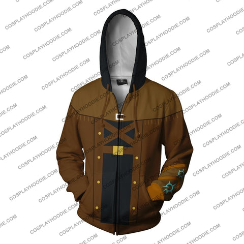 Image of Ezreal League Of Legends Zip Up Hoodie Cosplay Jacket