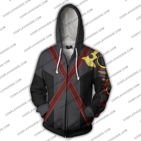 Kingdom Hearts Terra Zip Up Hoodie Cosplay Jacket