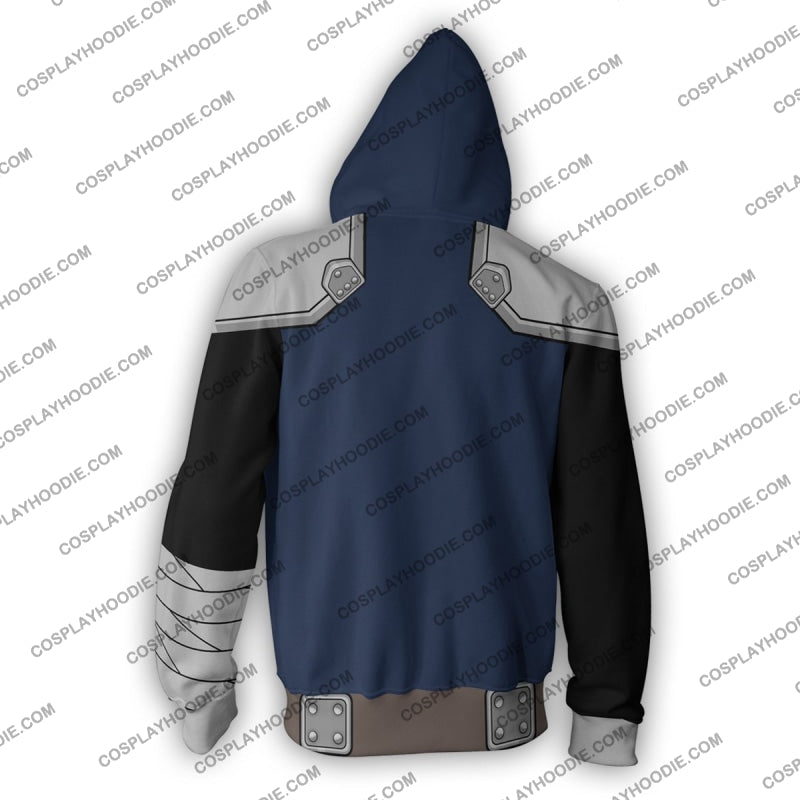 Kenshiro Fist Of The North Star Zip Up Hoodie Cosplay Jacket
