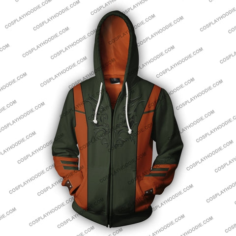 Hwoarang Tekken Zip Up Hoodie Cosplay Jacket