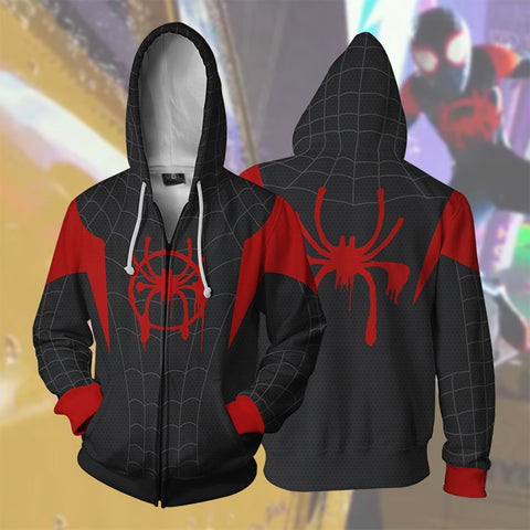 Image of Marvel Comics - Into The Spider-Verse Cosplay Hoodie Jacket