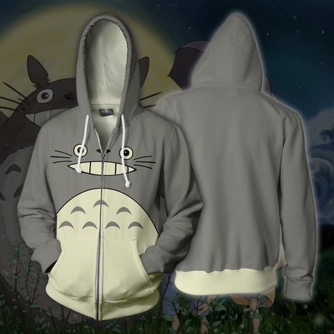 Image of Studio Ghibli - Totoro Cosplay Hoodie Jacket