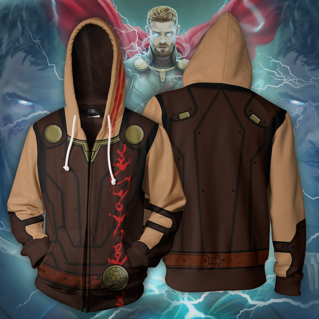 Marvel Comics - Thor Ragnarok Cosplay Hoodie Jacket