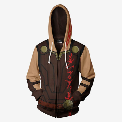Image of Marvel Comics - Thor Ragnarok Cosplay Hoodie Jacket