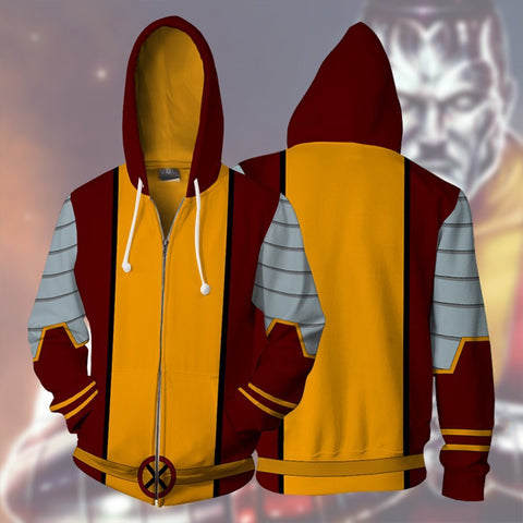 Image of Marvel Comics - X-Men Colossus Cosplay Hoodie Jacket