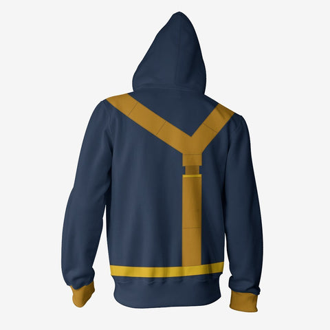 Image of Marvel Comics - Scott Summers Cyclops Cosplay Hoodie Jacket