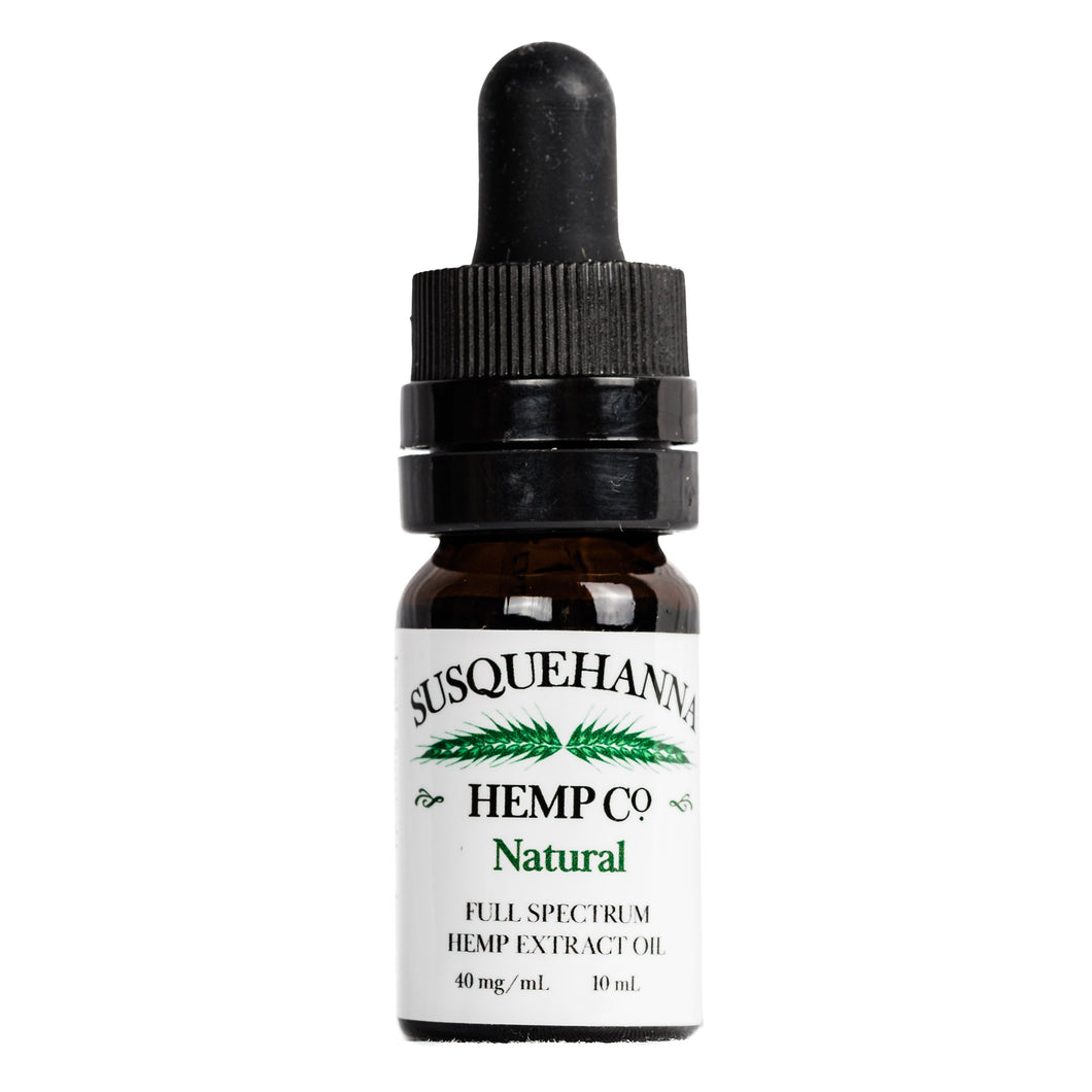 Full-Spectrum Hemp Oil, 400 mg or 40 mg/mL $40.00
