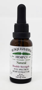 Double-strength Full-Spectrum Hemp Oil, 2400 mg or 80 mg/mL $175.00
