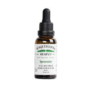 Full-Spectrum Hemp Oil, 1200 mg or 40 mg/mL $100.00