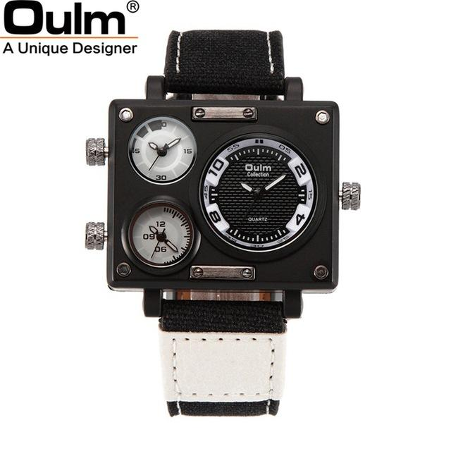 OULM Fabric 2017 Analog Watch