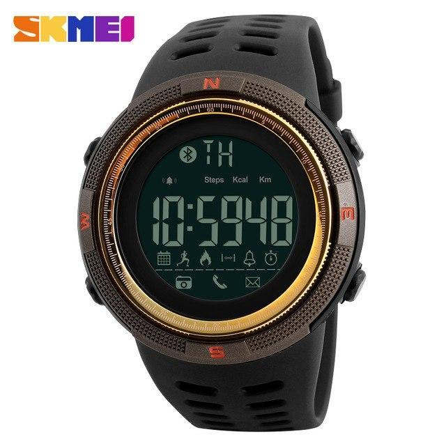 SKMEI Men Smart Watch Chrono Calories Pedometer Sports Smartwatches Digital Wristwatches For Apple IOS Android  Relogios Clocks