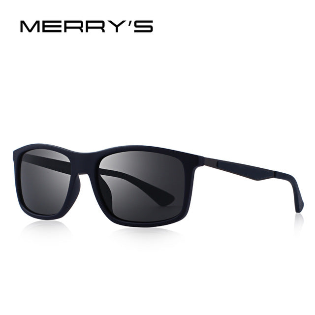 MERRY'S DESIGN Men Classic Polarized Sunglasses TR90 Legs Outdoor Sports Ultra-light Series 100% UV Protection S'8161