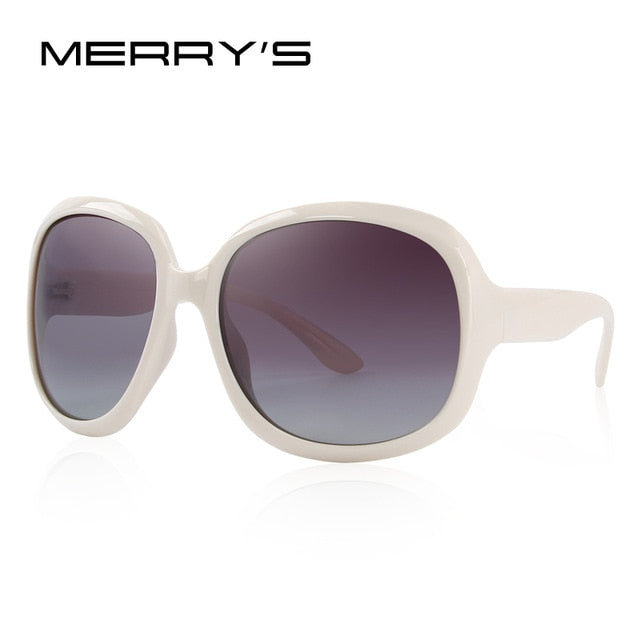 MERRY'S DESIGN Women Retro Polarized Sunglasses Lady Driving Sun Glasses 100% UV Protection S'6036