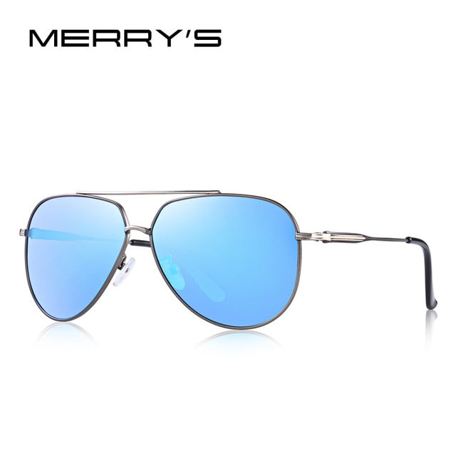 MERRY'S DESIGN Men Pilot Sunglasses HD Polarized Sunlasses For Men UV400 Protection S'8123