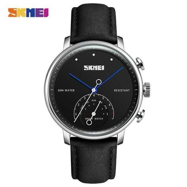 SKMEI Smart Hybrid Watch Fashion Simple Couple Quartz Watches Auto time Waterproof Creative Wristwatches relogio masculino H8