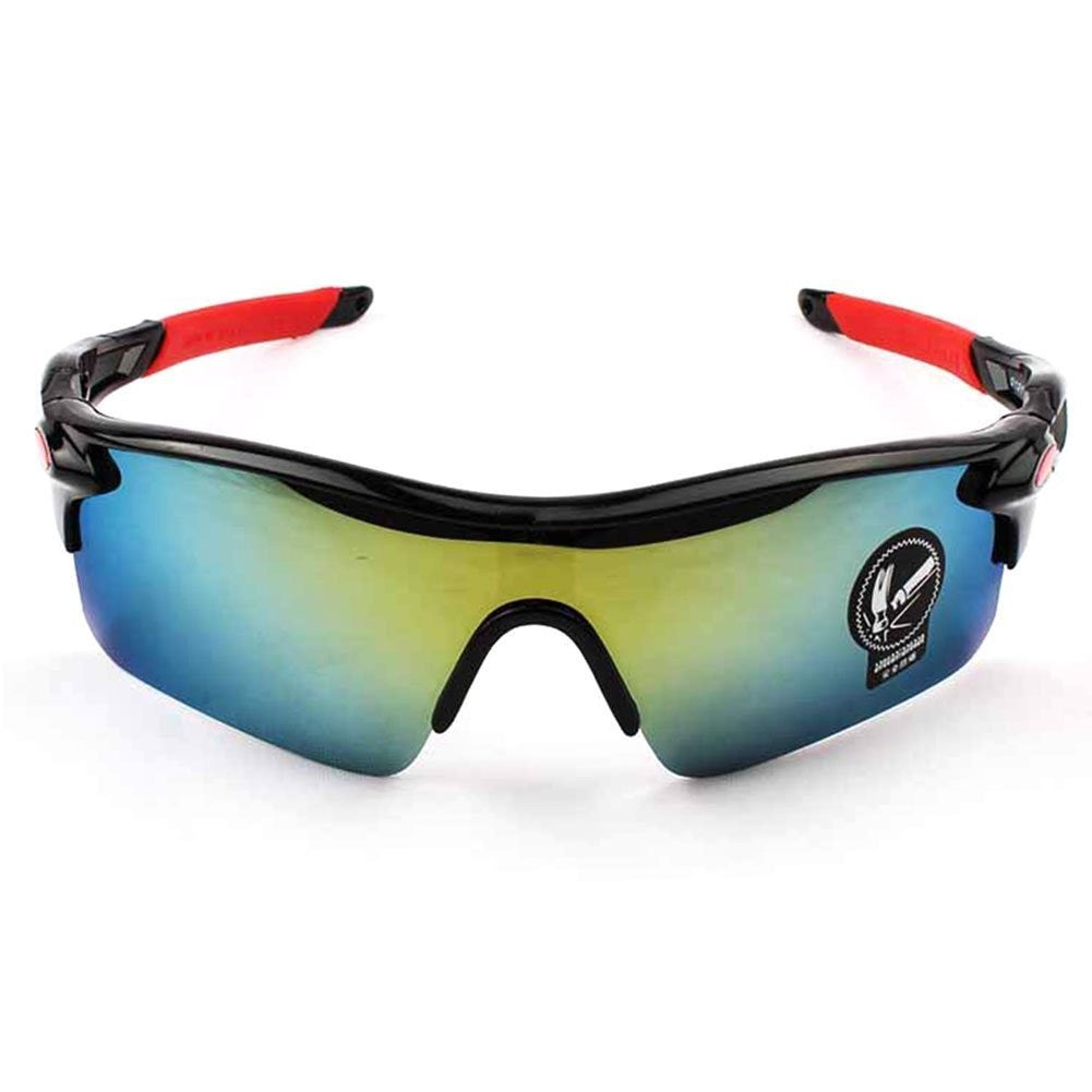 Finmind Sports Sunglasses for Men Flexible Polarized Fashion Sunglasses for Outdoor Riding Camping Skating Golfing Cycling Sunglasses (Style6)