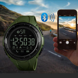 Men Smart Watch Chrono Calories Pedometer Multi-Functions Sports Watches For Man Clock Digital Wristwatches Relojes SKMEI 2018