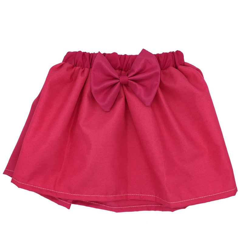 Cute Baby Skirt Mini Bubble Tutu Skirt Little Girl Fashion Pleated Fluffy Skirt Party Dance Skirt