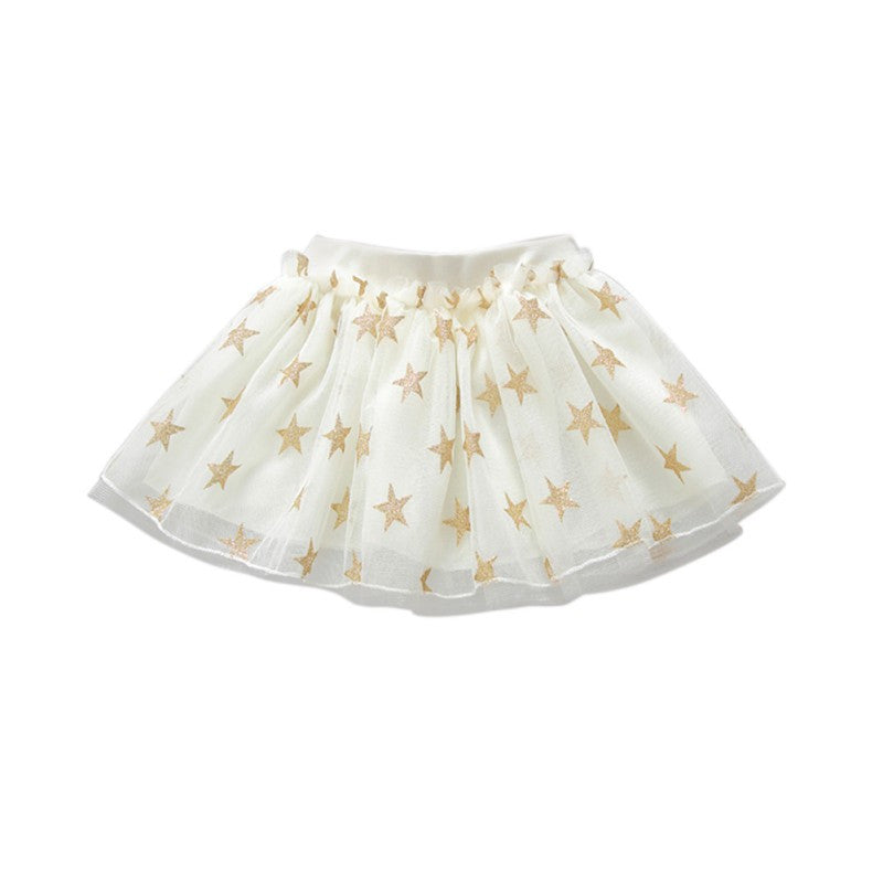 New Design Summer Style Girl Skirt Baby Star Skirt Cheap Kids Tutu Skirt Baby girl Skirts 1Y-6T