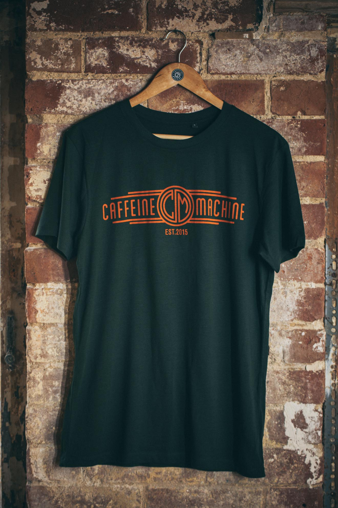 Church Tee. Green