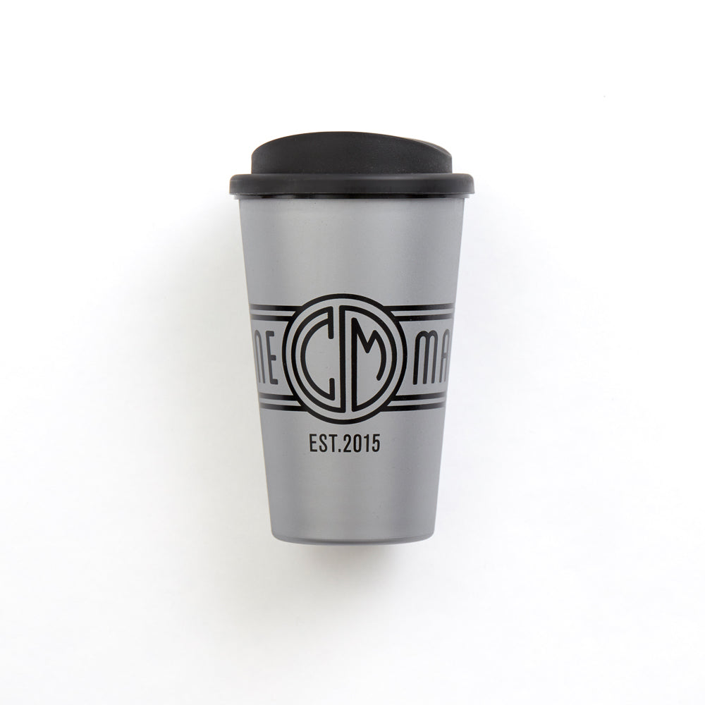 C&M Coffee Cup. Silver