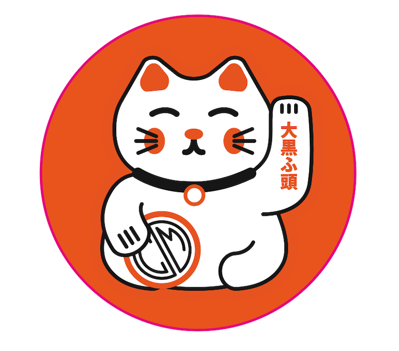 Sticker. Mini cat