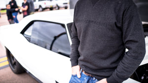 C&M Sweater. Charcoal