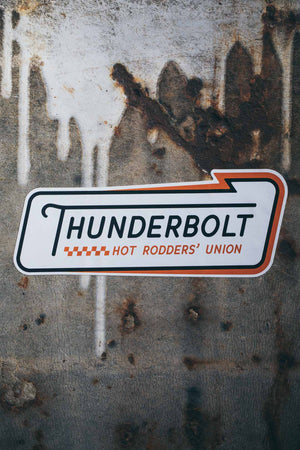 Sticker. Thunderbolt